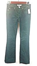 Gap Women's Baby Boot Jeans Dark Green Stretch 5 Pockets Size 25P Petite NWT
