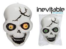 Hanging LED Light Up Eyes Skull Halloween Decoration Scary Party Fun Joke