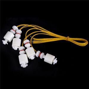 5 Pcs Water Level Switch Liquid Level Sensor Plastic Ball Vertical Float D Eb