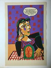 Luis Alonso, Dora Maar Picasso Pop Art Tribute, Radio Universidad Puerto Rico