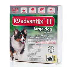 Bayer K9 Advantix II 21-55 lbs lg dog four pack EPA product No expiration