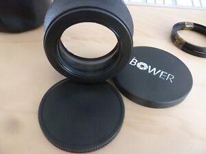 Bower 2X Telephoto Lens Digital High Definition 72 mm Thread 82 mm Filter VLB272