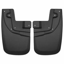Husky Liners 56931 Front Mud Flaps Black For 2005-2015 Toyota Tacoma
