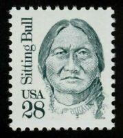 Sitting Bull Indian Chief 1989 Mint NH Regular Issue Stamp Scott # 2183