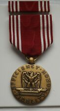NAMED U.S. ARMY GOOD CONDUCT MEDAL w/ RIBBON and BAR.VINTAGE KOREAN WAR MILITARY