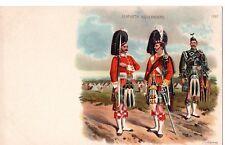"""""""Seaforth Highlanders"""" by F.O'Bierne,Chromo Litho, Postcard"""