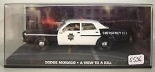 James Bond 007 Collection 1/43 Dodge Monaco Police A View to a kill in Box #5596