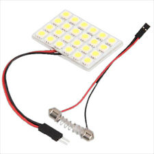 SODIAL (R) Weisses SMD LED Panel 24 + 29-42 mm Torpedo Adapter GY