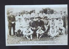 REAL PHOTO GUELPH ONTARIO MAPLE LEAFS BASEBALL TEAM 1921 POSTCARD COPY SPORTS