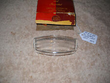 NOS Mopar 1939 Dodge Chrysler DeSoto License Lamp Lens Rare!