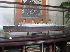 Titanic white star Maritime Replica 1:350 model cruise boat liner ocean in case