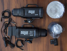Used Dynalite Baja B4 Battery Powered 2-Monolight Kit with Case