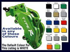 HONDA TYPE R Premium Brake Caliper Decals Stickers x 6