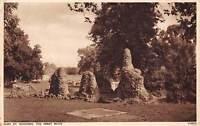 England Bury St. Edmunds The Abbey Ruins 1956