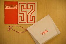 EUMIG S2 8-mm-Kinokamera Anleitung 24 Seiten, Garantie und Beiblätter, 1963