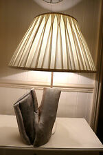 DRIFTWOOD TABLE LAMP HAND MADE UNIQUE RUSTIC MODERN, BULB INC.