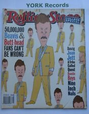 ROLLING STONE MAGAZINE - Issue 678 March 24th 1994 - Beavis & Butt-head