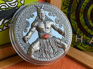 HAKA World Cultures 2 Oz silver coin 2020 Cameroon 2000 Francs AVAILABLE