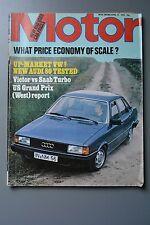 R&L Mag: Motor Apr 14 1979 Vauxhal VX Tuned 2600 (2300)/Audi 80 GLS Test