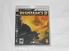 NEW Resistance 2 Playstation 3 Game (w/ BOX WEAR) PS3 resistence Black Label