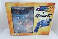 Playstation 2 PS2 Time Crisis 2 + Namco G-Con 2 Gun Controller New Sealed Boxed