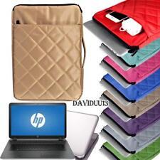 "Carrying Bag Sleeve Case For 15.6"" HP ENVY Pavilion ProBook Notebook Laptop"