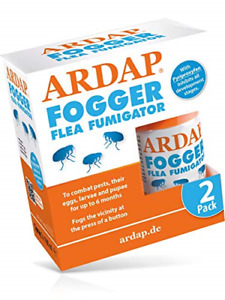 ARDAP Fogger Flea Fumigator 2x 100ml   Insect and bug killer for household and