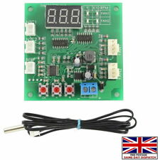 More details for 12v dc pwm pc 4 wire fan temperature speed controller cpu/case fan new 🇬🇧