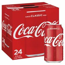 Coca-Cola Classic Coke Multipack Cans 375ml 30 Pack