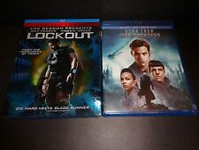 LOCKOUT & STAR TREK INTO DARKNESS-2 movies-GUY PEARCE, CHRIS PINE, MAGGIE GRACE