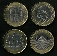 4 X 3 Euro Slovénie 2009 / 2010 / 2011 et 2013