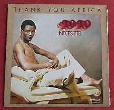 TOTO NECESSITE    LP ORIG US  THANK YOU AFRICA