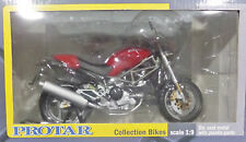 NEW IN BOX- MOTORCYCLE BY PROTAR-DUCATI-1:9 SCALE-RED-DIE-CAST/PLASTIC-FREE POST