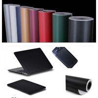 """12""""x60"""" 4D Gloss Black Carbon Fibre Fiber Vinyl Car Wrap Air Release Film"""