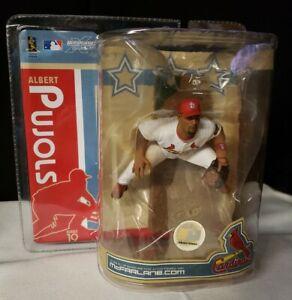 2007 McFarlane MLB Series 19 Albert Pujols St Louis Cardinals Action Figure