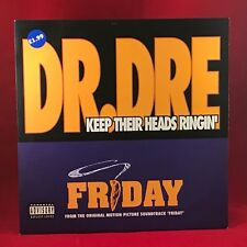 "DR DRE Keep Their Heads Ringin' 1995 UK 12"" Vinyl  Single EXCELLENT CONDITION"