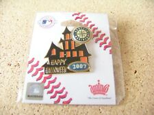 2007 Seattle Mariners Halloween Haunted House pin MLB