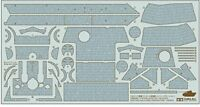 Zimmerit Coating sheet for Panther Ausfg 1/35 Tamiya Import Japan