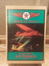 Ertl Wings Of Texaco ~ 1929 Lockheed Air Die-Cast Coin Bank Plane #1 In Series