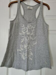 Abercrombie and fitch Ladies Grey T Shirt  Size L.