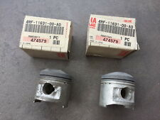 YAMAHA XV125 PISTON ENGINE SIZE STD (QTY.2) NOS 4RF-11631-00-A0