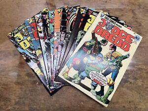 Judge Dredd (1983) Vol 1 # 2, 3, 10-12, 14-16, 18-20 Lot of 11 Eagle Comics