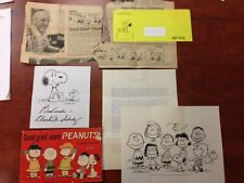 Vintage Peanuts Charles Schulz collection Snoopy Charlie Brown cartoon