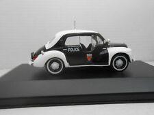 1/43 COCHE RENAULT 4 4/4 ELIGOR POLICIA POLICE  METAL MODEL CAR 1:43 MINIATURA