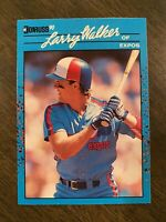 MINT 1990 Donruss Best of the National League Larry Walker Rookie Expos #91 RC