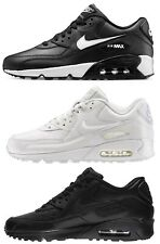air max 90 leather bianche donna