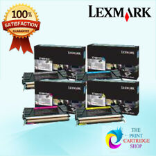 New Lexmark X746H1KG X748H1CG X748H1MG X748H1YG Full Toner Set CMYK X748DE