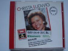 0993 Christa Ludwig - Mahler Lieder CD album *EX-LIBRARY*