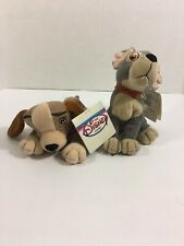 Disney Store Lady And The Tramp Mini Bean Bag Plush w/ Tags (Loose Thread)