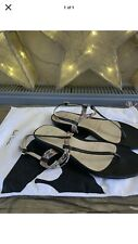 Paul Smith Black Leather Sandals Size 7